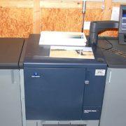 Erste Digitaldruckmaschine KonicaMinolta bizub PRESS C71hc im Raum Stuttgart