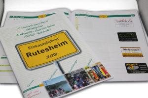 Rutesheim Einkaufsführer 2018 - Innenansicht Kalendarium 2018