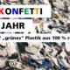 """""""Grünes Plastik"""" ohne Mikroplastik: Manhillen setzt auf 100 % recyceltes PVC & Bio-PVC in unserer Digitaldruckerei in Rutesheim (nahe Stuttgart)"""
