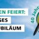 Firmenjubiläum: Plastikkarten Produktion seit 40 Jahren in unserer Digitaldruckerei in Rutesheim (nahe Stuttgart)