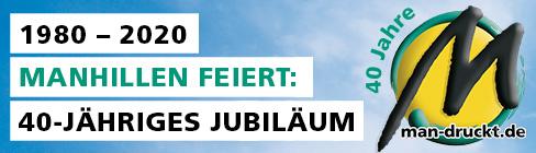 Firmenjubiläum 2020: Plastikkarten Produktion seit 40 Jahren in unserer Digitaldruckerei in Rutesheim (nahe Stuttgart)