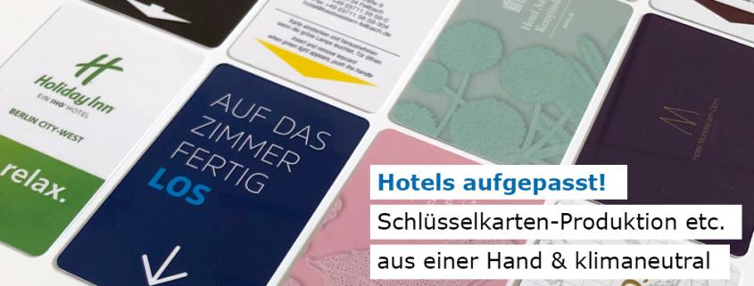 Hotels aufgepasst: Klimaneutrale Produkte für den Hotelbedarf bei Manhillen Drucktechnik in Rutesheim (nahe Stuttgart)